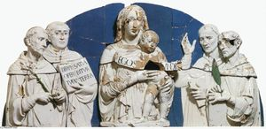 Madonna and Child between Saints