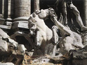 Fountain of Trevi (detail)