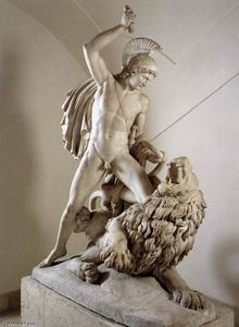 Bellerophon Fighting the Chimaera