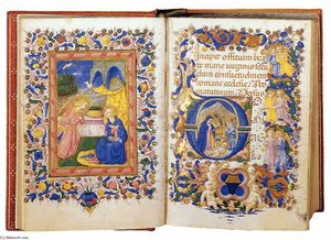 Book of Hours for the Use of Rome (Folios 14v-15r)