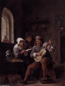 Peasants Making Music