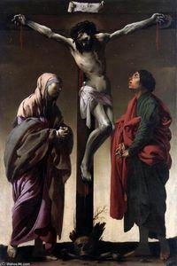 Les Crucifixion avec l Vierge et r John