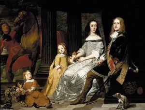 フィリップス·ヴァン·デ·Werveと彼の妻の肖像