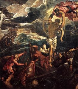 St Mark Rescuing a Saracen from Shipwreck