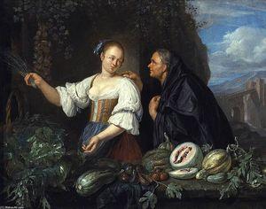 A Vegetable Seller