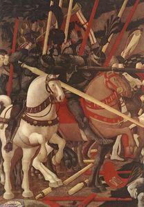 Bernardino della Ciarda Thrown Off His Horse (detail)