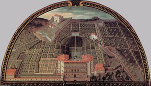 Palazzo Pitti and the Forte Belvedere