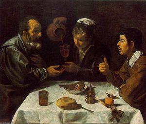 Peasants at the Table (El Almuerzo)