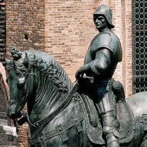 Equestrian Statue of Colleoni (detail)