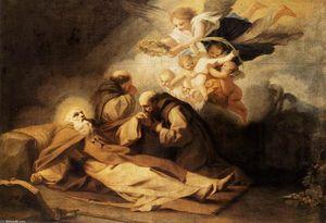 la morte of S Anthony il eremita