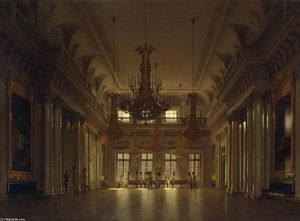 The Fieldmarshals' Hall in the Winter Palace