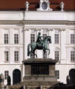 Equestrian statue of the Emperor Joseph II