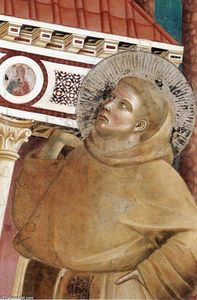 Legend of St Francis: 6. Dream of Innocent III (detail)