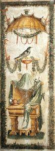 Decoration of the Stufetta (bathroom) of Clement VII Stufetta