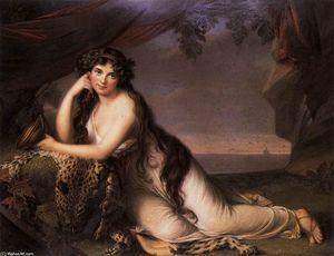 Lady Hamilton as a Bacchante