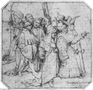 Gruppe der männlichen Figuren