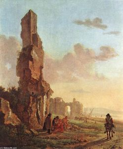 Ruins at the Sea