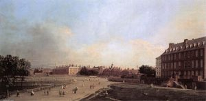 London: the Old Horse Guards from St James's Park