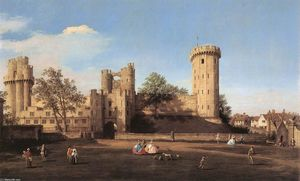 Warwick Castle: the East Front
