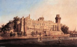 Warwick Castle: the South Front