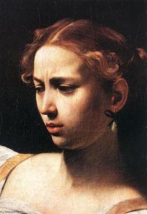 Judith Beheading Holofernes (detail)