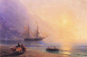 Loading Provisions off the Crimean Coast