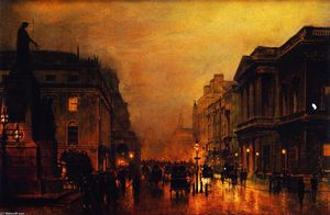 London, Pall Mall, and Saint James Street