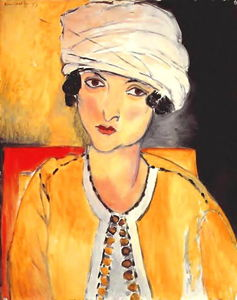 Lorette with Turban and Yellow Jacket