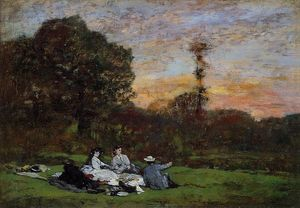 Luncheon on the Grass, the Family of Eugene Manet