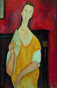 lunia czechowska ( conosciuto anche come La femme un l'éventail )