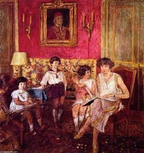 Madame Jean Bloch and Her Children