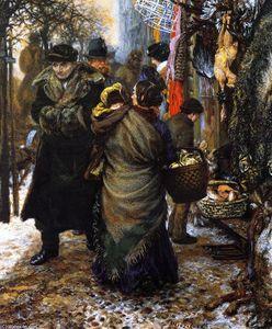Market in Winter