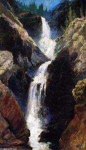 Mary's Veil, A Waterfall in Utah
