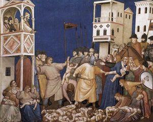 The Massacre of the Innocents (North transept, Lower Church, San Francesco, Assisi)