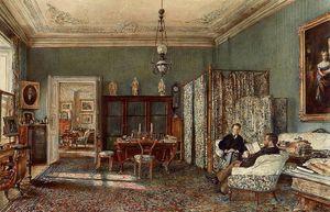 The Morning Room of the Palais Lanckoronski, Vienna