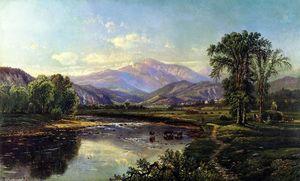 Mount Washington and the Saco River