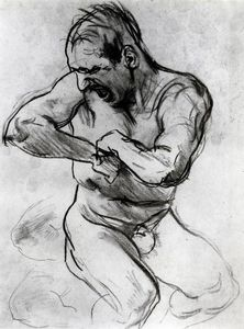 Man Screaming (also known as Study for Hell)