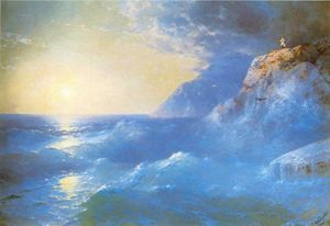 Napoleon on island of St. Helen