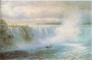The Niagara waterfall