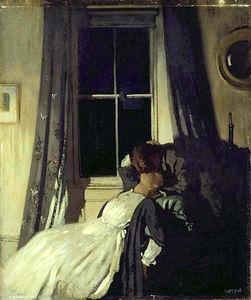 Night (also known as The painter and his wife Grace Knewstub)