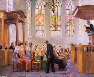 The Offertory (also known as Interior of a Church)