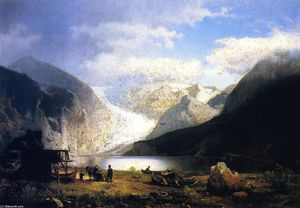 On a Glacier Lake