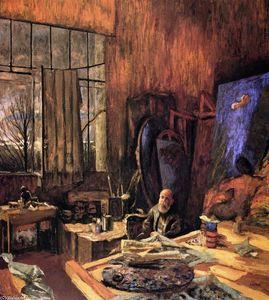 The Painter K.-X. Roussel in his L'Etang-la-Ville Studio (final version)