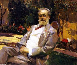 The Painter Raimundo de Madrazo y Garreta
