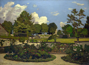 The Painter's Garden at Saint-Prive