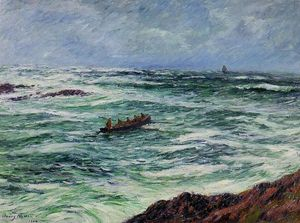 The Pilot, The Coast of Brittany