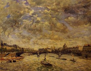 The Pont Carousel, Paris