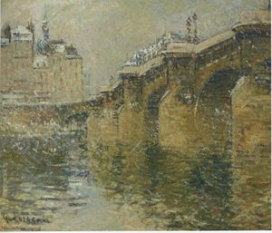 Pont Neuf in the Snow