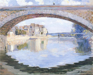 The Pont of the Marne at Lagny