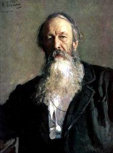 Portrait of the Art Critic Vladimir Stasov.